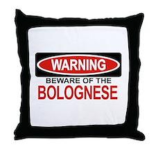 BOLOGNESE Throw Pillow