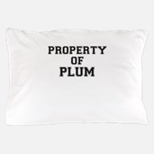 Property of PLUM Pillow Case