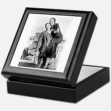Bonnie and Clyde Keepsake Box