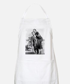 Bonnie and Clyde Apron