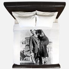 Bonnie and Clyde King Duvet