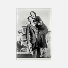 Bonnie and Clyde Magnets