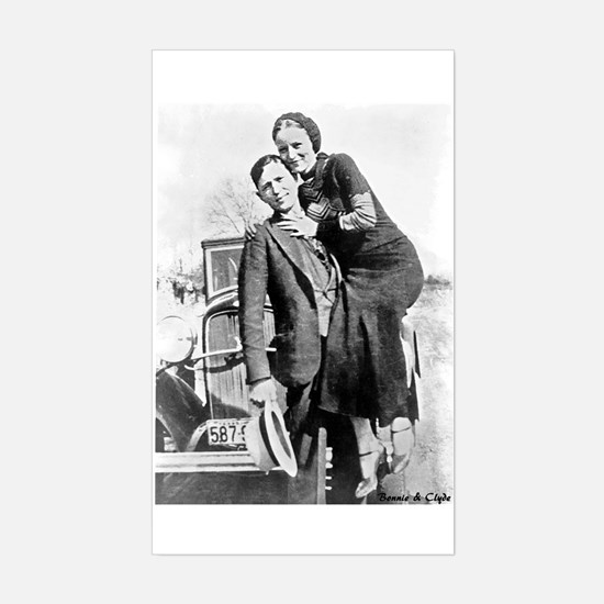 Bonnie and Clyde Decal