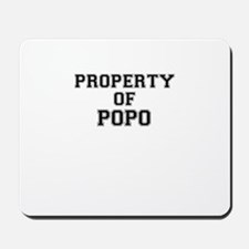 Property of POPO Mousepad