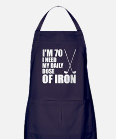 70 Daily Dose Of Iron Apron (dark)