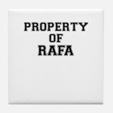 Property of RAFA Tile Coaster