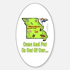 MO-Put Us! Oval Decal