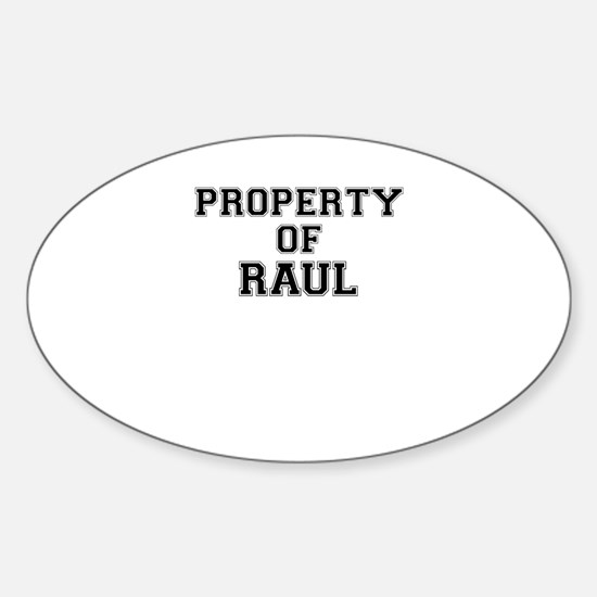 Property of RAUL Decal