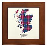 Map - Fraser of Lovat Framed Tile