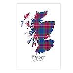 Map - Fraser of Lovat Postcards (Package of 8)