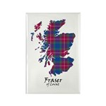 Map - Fraser of Lovat Rectangle Magnet (100 pack)