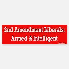 Second Amendment Liberal Bumper Bumper Bumper Sticker