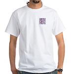 Monogram - Fraser of Lovat White T-Shirt