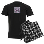 Monogram - Fraser of Lovat Men's Dark Pajamas