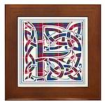 Monogram - Fraser of Lovat Framed Tile