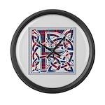 Monogram - Fraser of Lovat Large Wall Clock