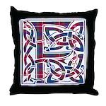 Monogram - Fraser of Lovat Throw Pillow