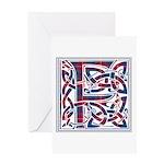 Monogram - Fraser of Lovat Greeting Card