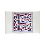 Monogram - Fraser of Lovat Rectangle Magnet (10 pa