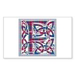Monogram - Fraser of Lovat Sticker (Rectangle)