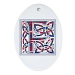 Monogram - Fraser of Lovat Ornament (Oval)