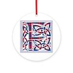 Monogram - Fraser of Lovat Ornament (Round)