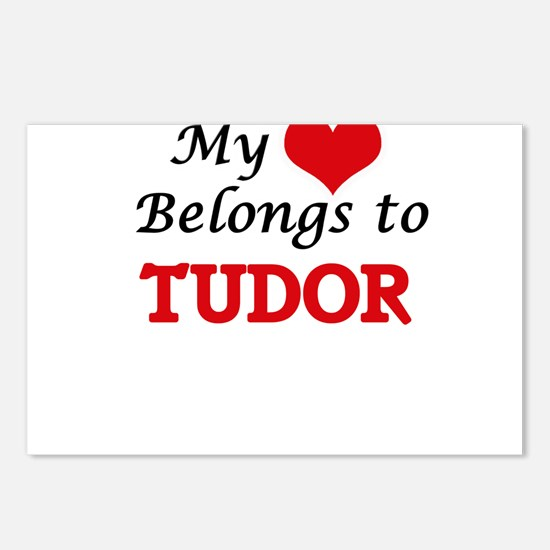 My Heart Belongs to Tudor Postcards (Package of 8)