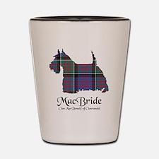 Terrier-MacBride.MacDonaldClanranald Shot Glass