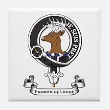 Badge - Fraser of Lovat Tile Coaster