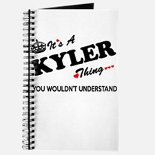 KYLER thing, you wouldn't understand Journal
