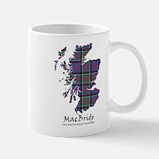 Map-MacBride.MacDonaldClanranald Mug