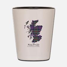 Map-MacBride.MacDonaldClanranald Shot Glass