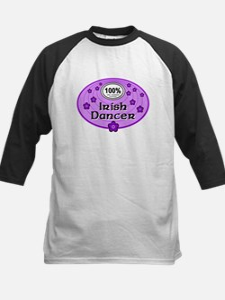 100% Irish Dancer in Purple Tee