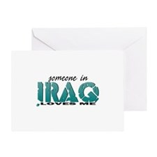 Someone In Iraq Greeting Cards