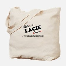 LACIE thing, you wouldn't understand Tote Bag