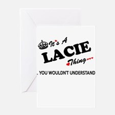 LACIE thing, you wouldn't understan Greeting Cards