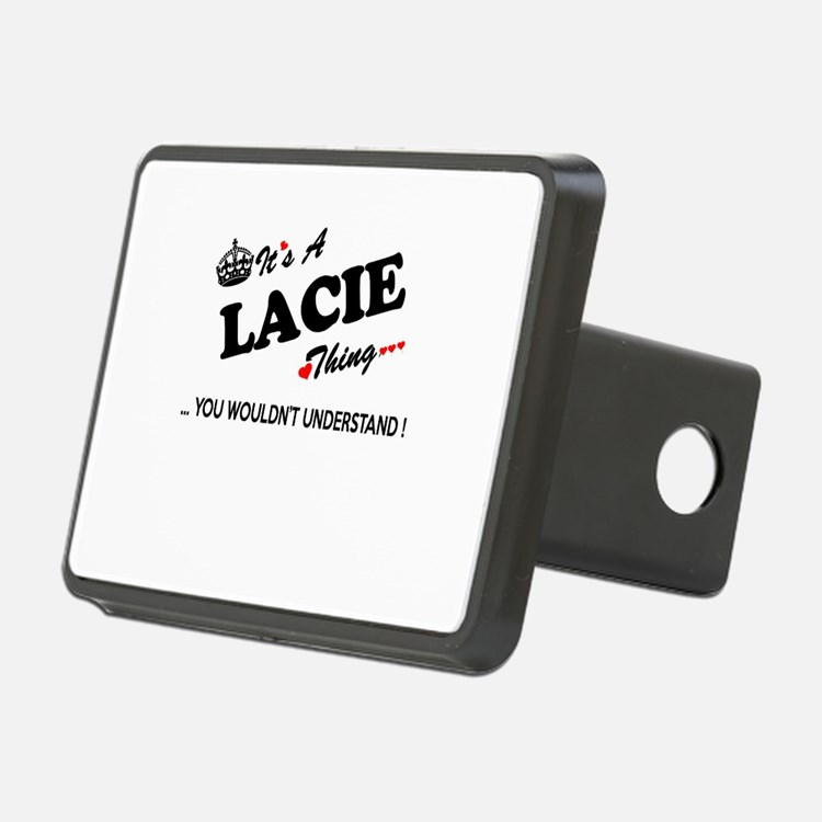 LACIE thing, you wouldn't Hitch Cover
