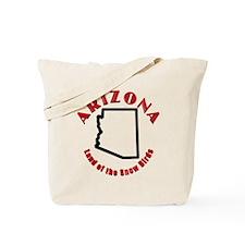 Arizona Snow Birds Tote Bag