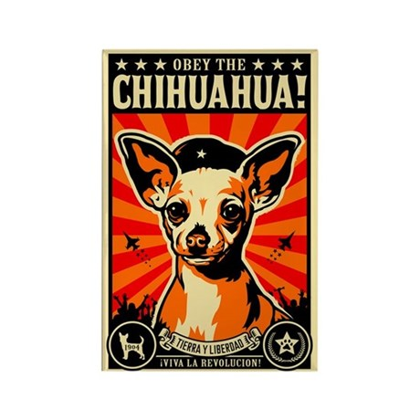 Chihuahua Revolutionary Leader Magnet