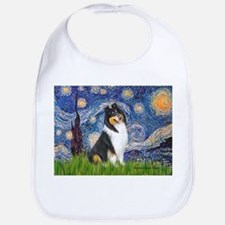 Starry Night / Collie (tri) Bib