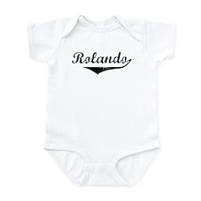 Rolando Vintage (Black) Infant Bodysuit