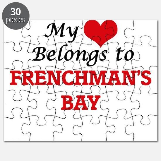 My Heart Belongs to Frenchman'S Bay Virgin Puzzle