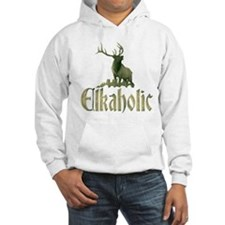 Elkaholic stag Hoodie