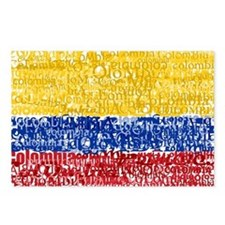 Textual Colombia Postcards (Package of 8)
