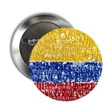 "Textual Colombia 2.25"" Button"