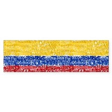 Textual Colombia Bumper Bumper Sticker