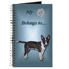 Mini Bull Terrier Journal