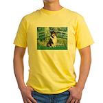 Bridge / Collie (tri) Yellow T-Shirt