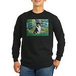 Bridge / Collie (tri) Long Sleeve Dark T-Shirt