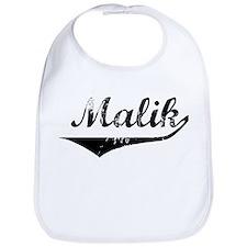 Malik Vintage (Black) Bib